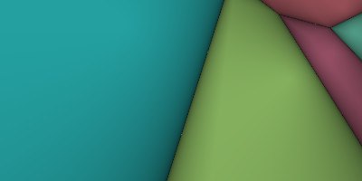 computer generated voronoi diagram. near the cell borders the colors quickly fades to black.